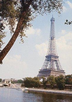 Monumenti Parigini Torre Eiffel